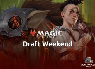 Magic the Gathering Draft Weekend poster
