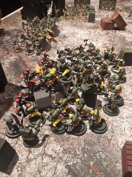 Ork vs Necrons (Noodle vs Joachim) batrep image