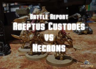 Custodes vs Necrons battle report