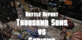 Thousand Sons vs Cadians