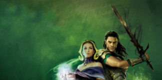 Gideon and Liliana in War of the Spark