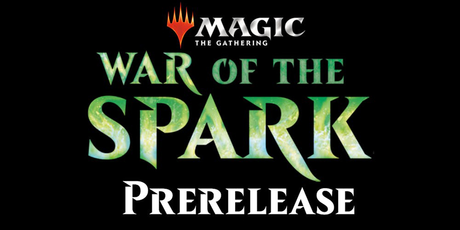 War of the Spark Prerelease header